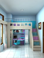 3D child bedroom