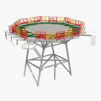 helipad pad 3D