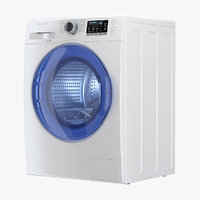 3D washing machine samsung ww6800