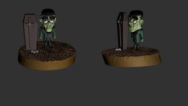 3D modelo