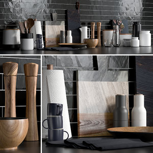3D kitchen accessories 1