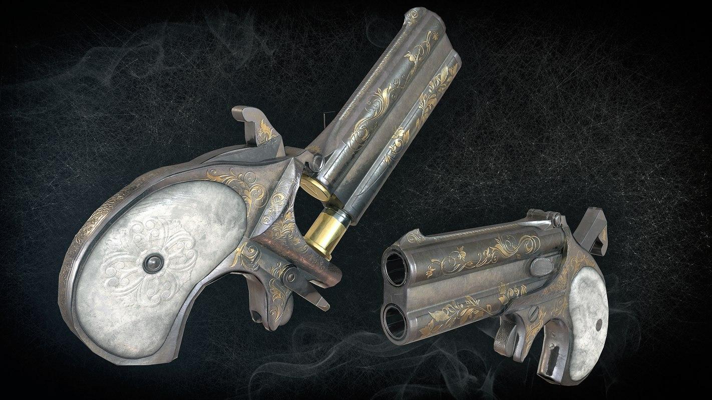 games remington derringer 3D