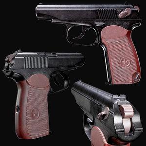 pm pistol - 3D model