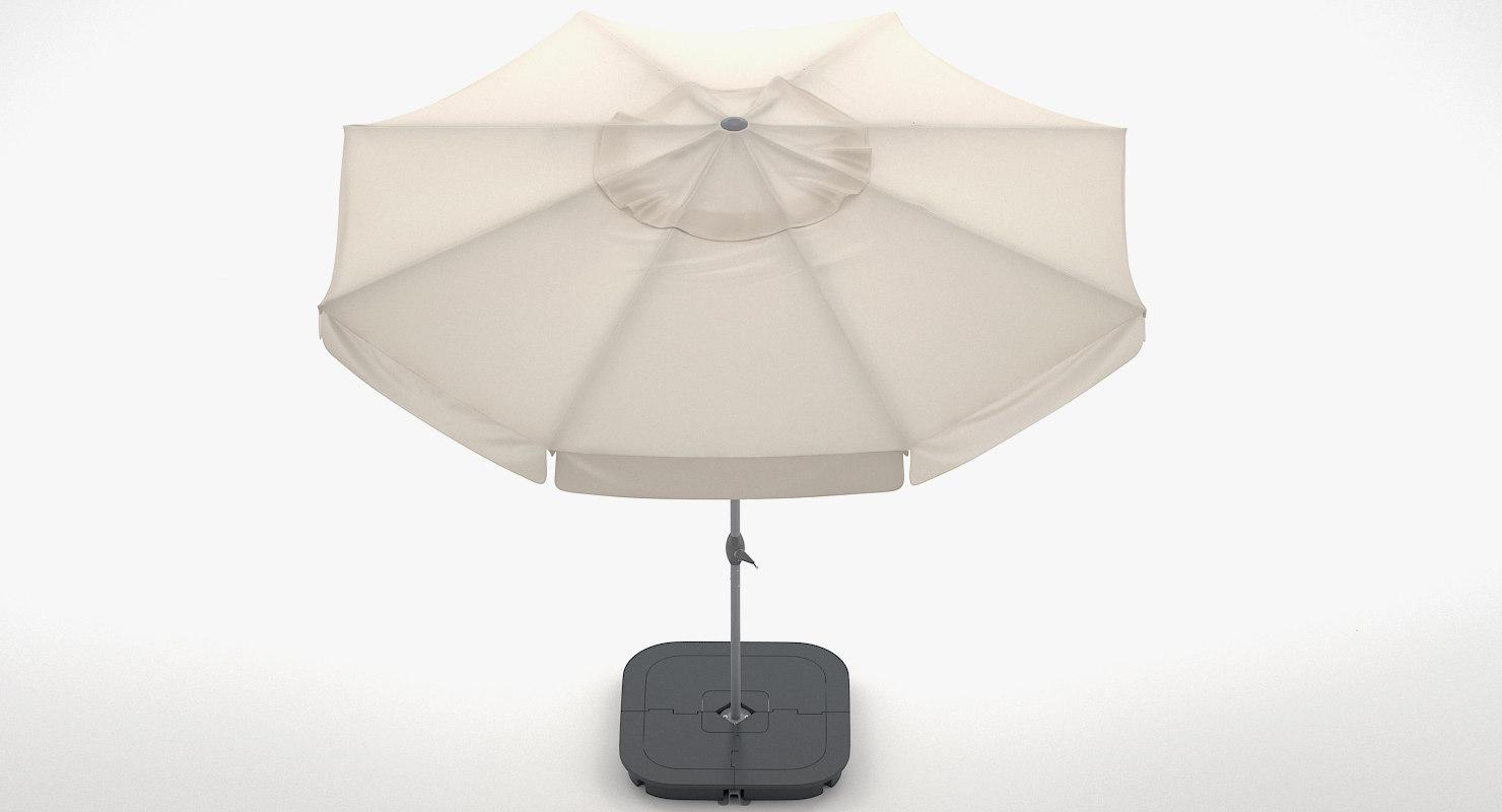 ikea parasol 3D