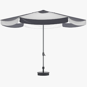 3D ikea parasol