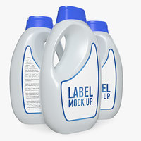 Shampoo Plastic Bottle