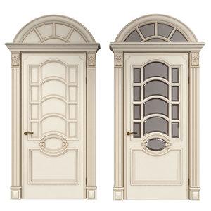 3D classic doors
