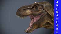 Tyrannosaurus Rex-Animations
