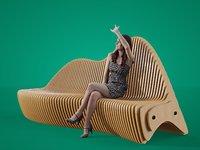 3D parametrical bench