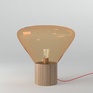 brokis muffin table lamp 3D model