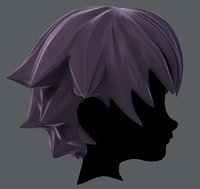 3D Hair style for boy V04