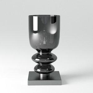 contardi lighting messalina table lamp 3D