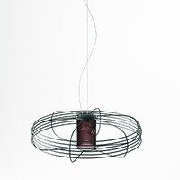 3D cattelan italia galaxy lamp model