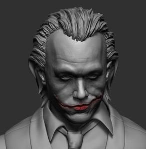 joker ztl zbrush 3D model