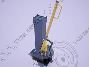 lifting jack yaletaurus 3D