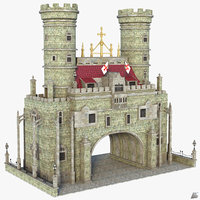 fantasy medieval 3D model
