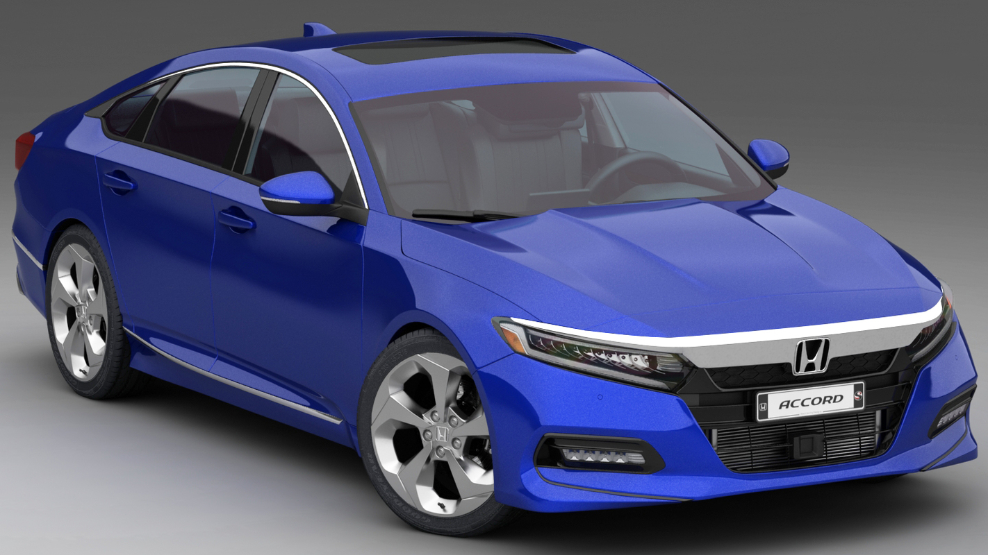 3D model honda accord 2018 2