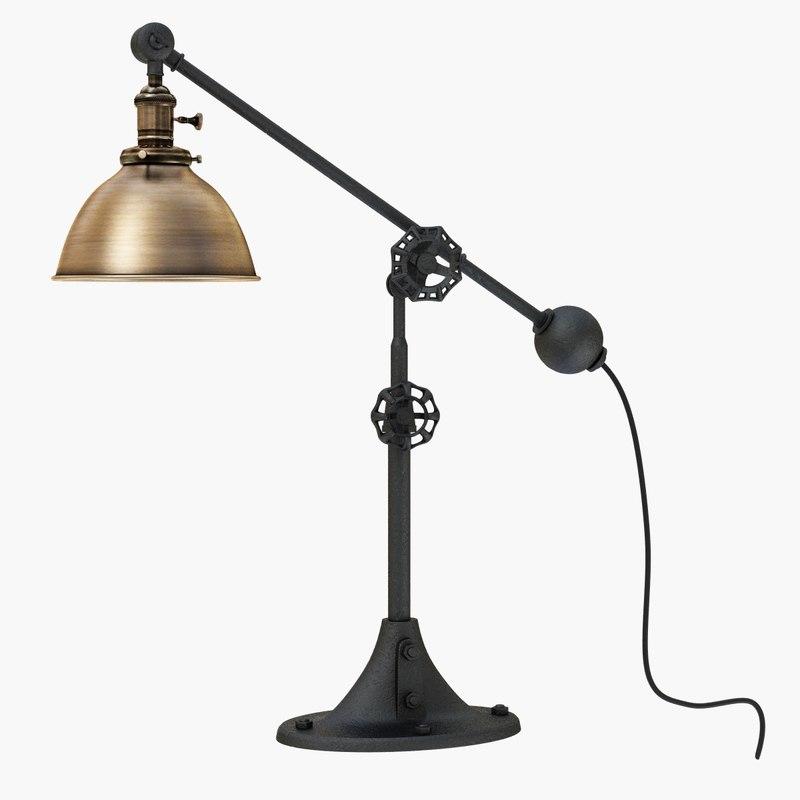 3D lamp restoration hardware