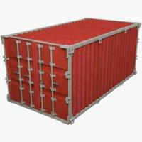 cargo container 3D