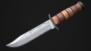 kabar knife model