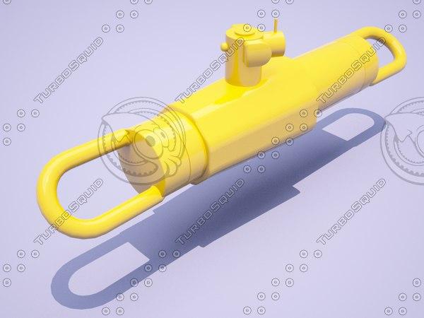 3D jack pulling pl model