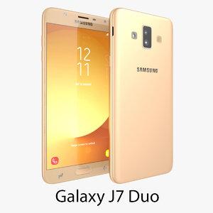 3D samsung j7 duo