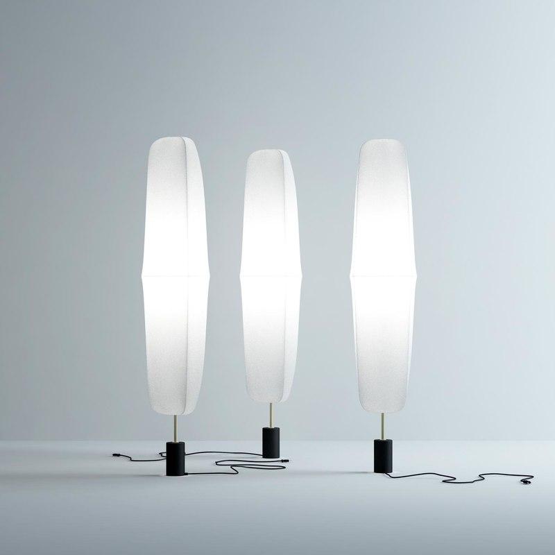 webcoat-floor-lamp 3D model