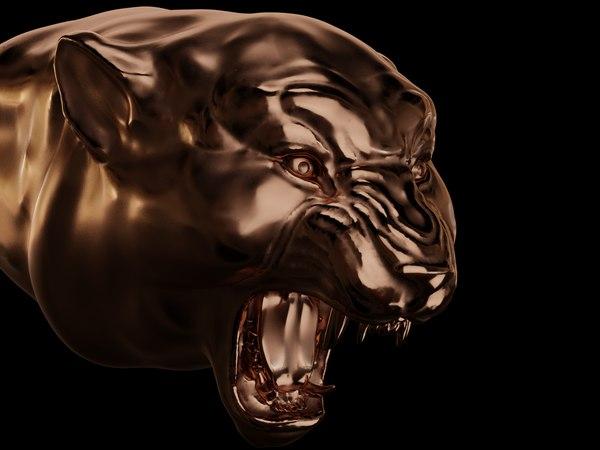 3D model panther