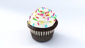 cupcake modell 3D model