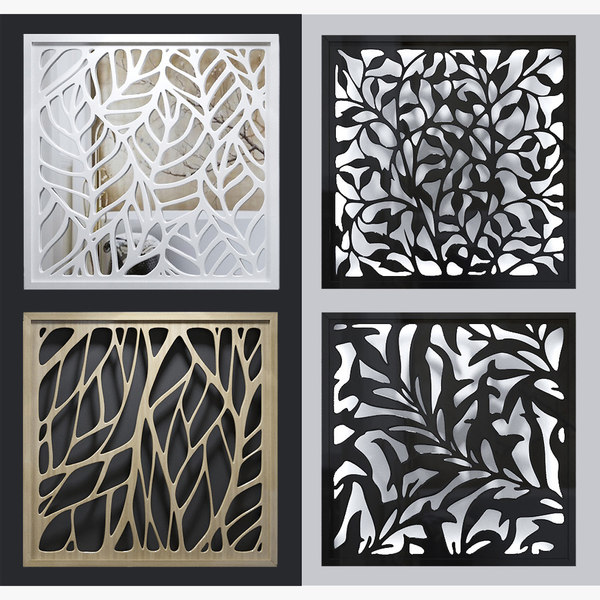 3D lattice decorative