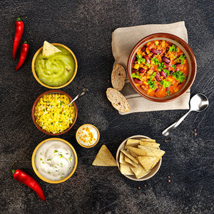 mexican meal chili 3D model