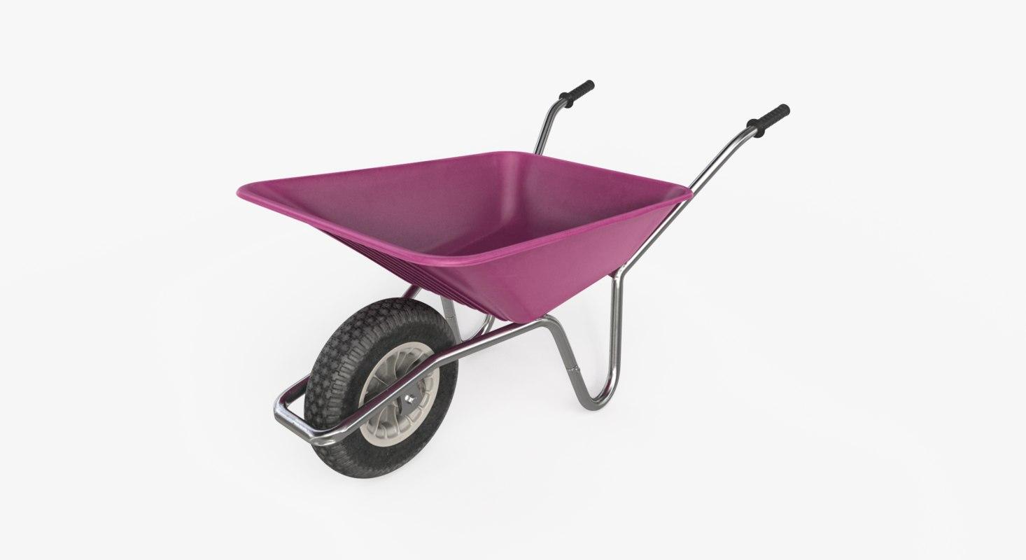 3D wheelbarrow ar