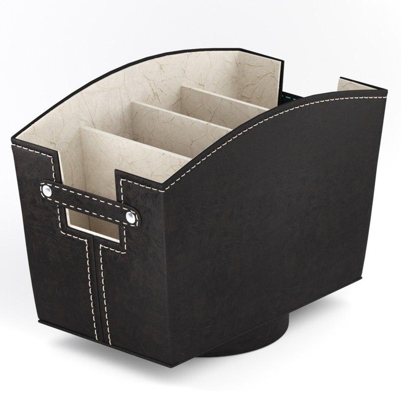 desktop organizer 3D
