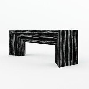fold bench model
