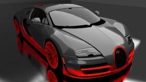 bugatti veyron 16 3D model