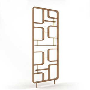 3D claustra divide model