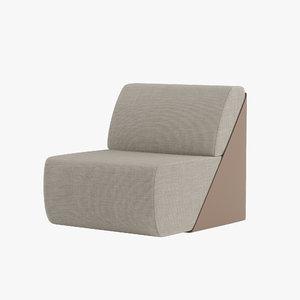 3D alivar lagoon easy chair