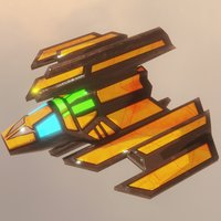 Sci-Fi Spaceship Strike Back