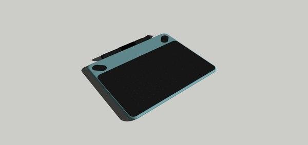 3D tableta digitalizadora model