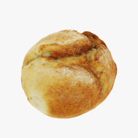 small loaf 3D model