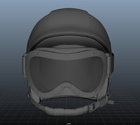 SKI Helmet with Googles