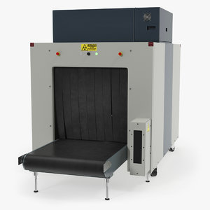 3D xray luggage scanner machine