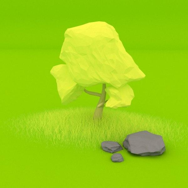 tree art commercial 3D