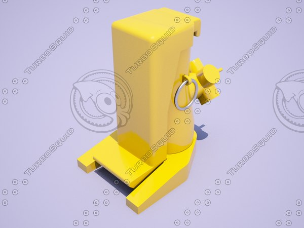3D nj series mechanical jack model