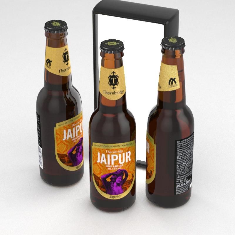 3D beer ipa
