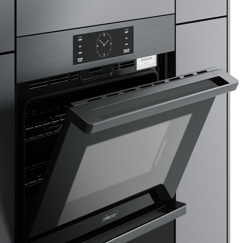 hyper modeled oven double 3D