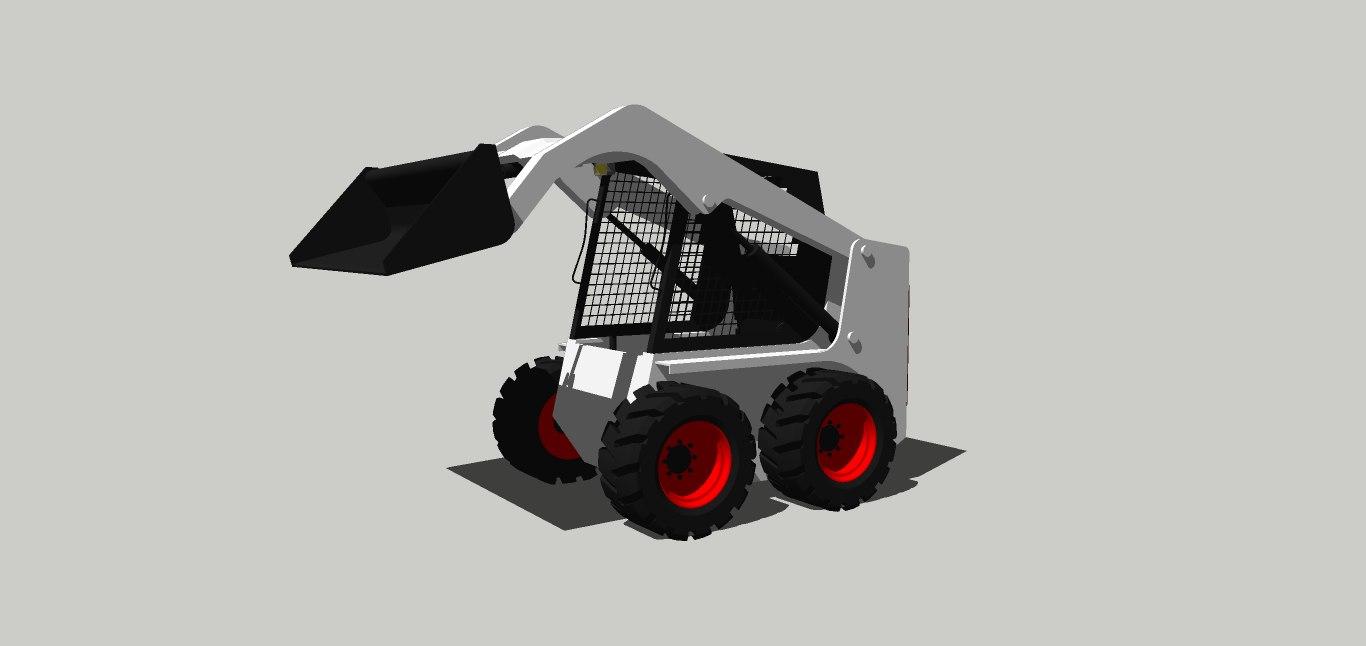 maquina mini 3D model