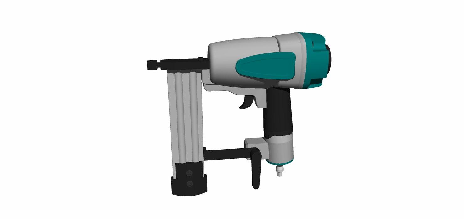 3D clavadora neumatica model