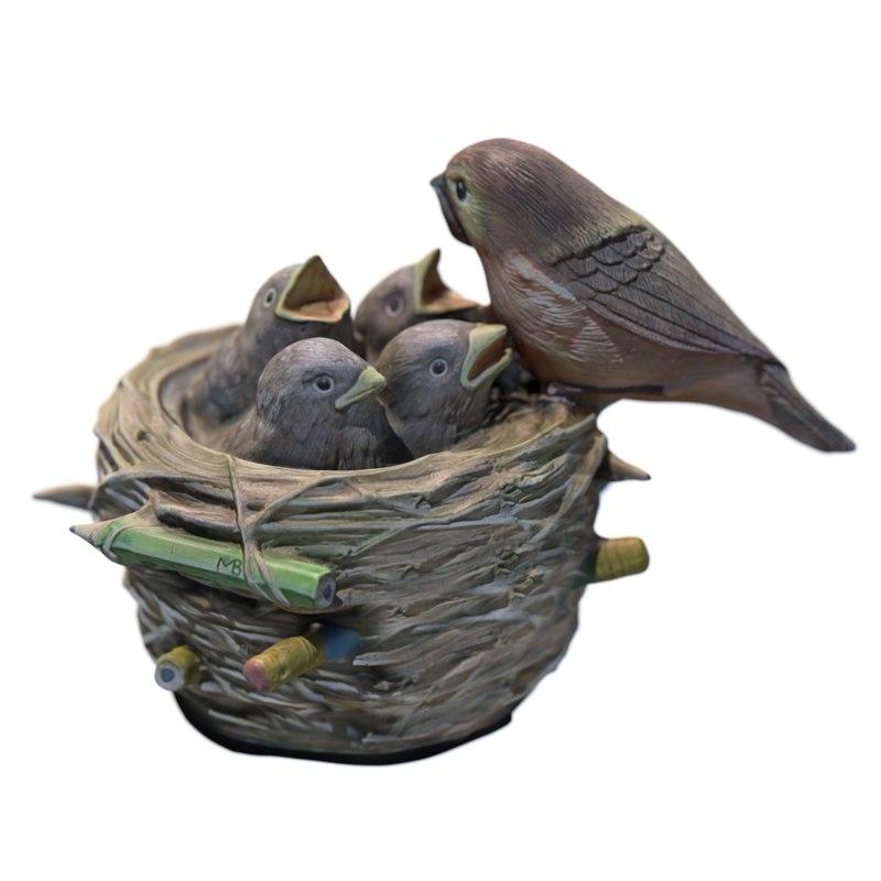 bird nest figurine 3D model