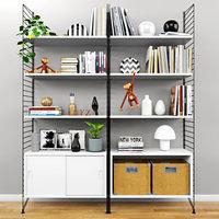 set shelves 3D model